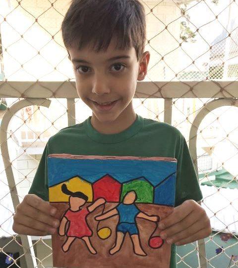 Praticando arte! – 1º ano B manhã