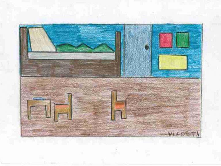 """Releitura de """"O quarto de Van Gogh em Arles"""" – 4º ano"""
