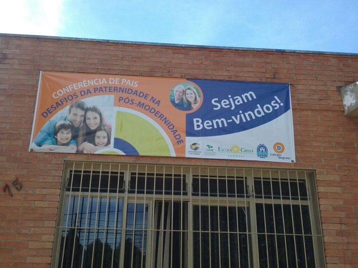 Escola Cristã recebe visita da família Young (parte 3) – PALESTRA AOS PAIS, PROFESSORES E AMIGOS