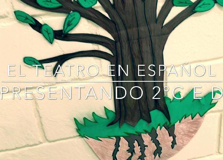2º ano da tarde produz esquetes em espanhol