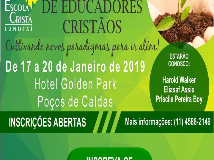 19º SEMINÁRIO DE EDUCADORES CRISTÃOS