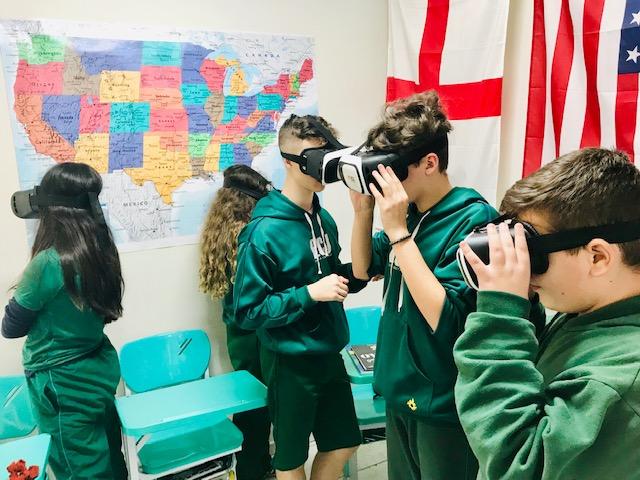 Virtual Reality – 8º ano