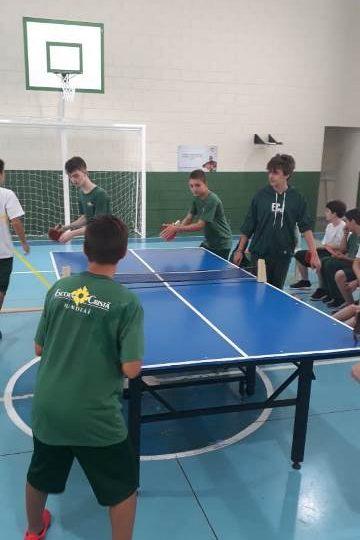 Tênis de mesa – 9º ano