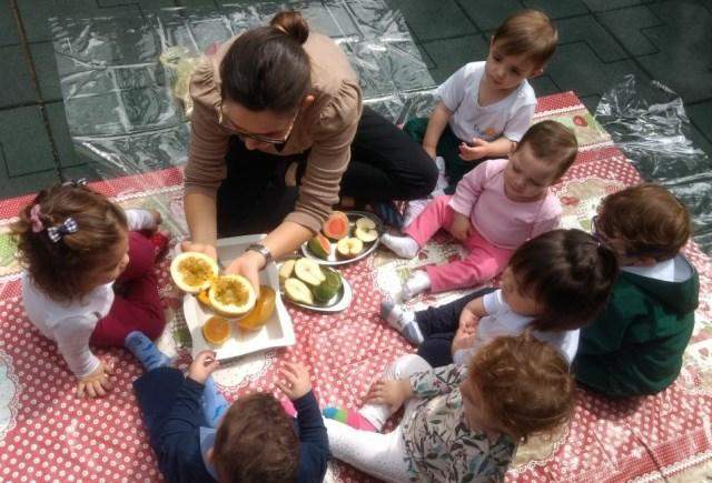 Alimentando paladar e memórias – Maternal 1