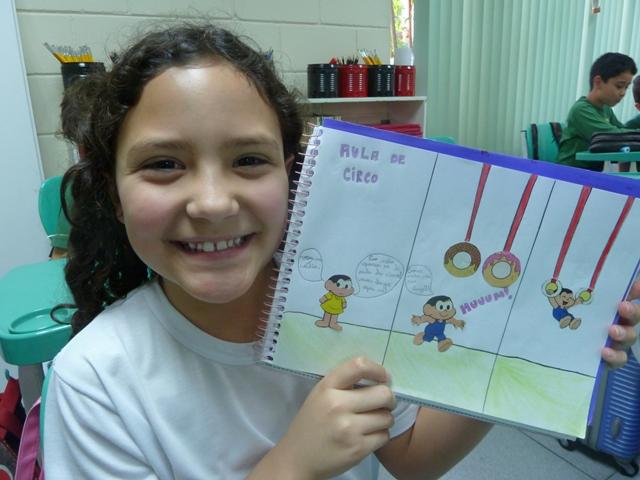 Histórias em quadrinhos no 3º ano