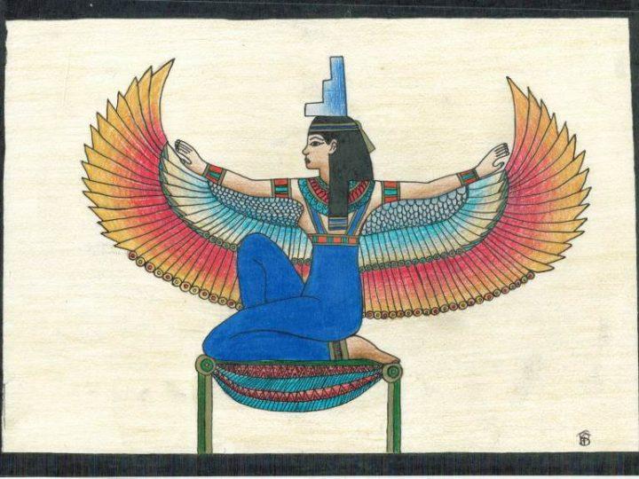 Pintura Egípcia-7º ano A e C
