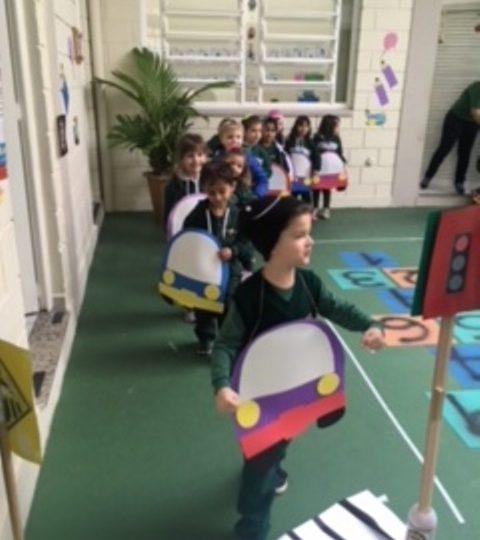 Transitando na escola – Jardim