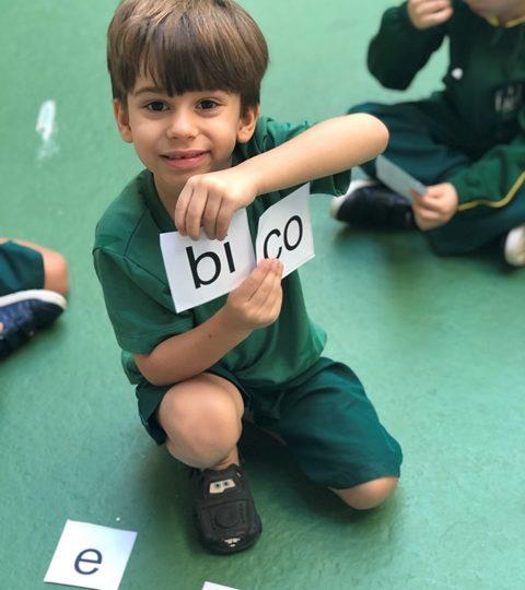 Aprendendo a escrever palavras – Pré A manhã