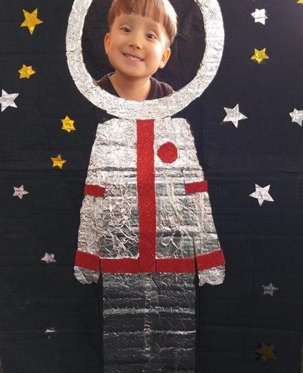 Projeto do Integral: O astronauta e a Lua
