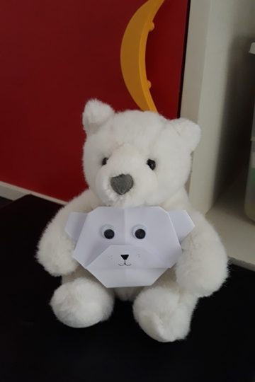 The White Polar Bear (o urso polar branco) – Jardim