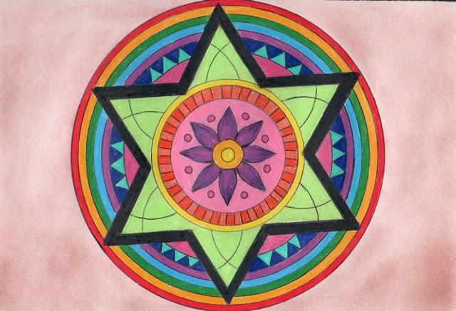Desenho de mandala – 9º Ano