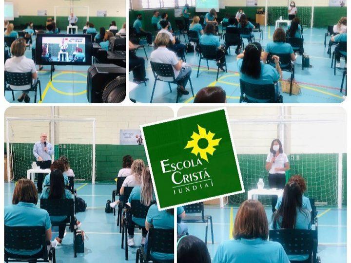 Reuniões pedagógicas mensais na ECJ – Melhores Práticas LEM