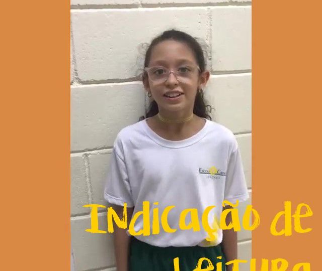 Indicação de Leitura – Ana Clara – 5º ano